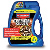 BioAdvanced 700350A Termite Killer Home Perimeter Treatment | Best Insecticide Granules for Outdoors