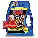 BioAdvanced 700350A Termite Killer Home Perimeter Treatment Ready-to-Spread Granules, 9-Pounds, N.A