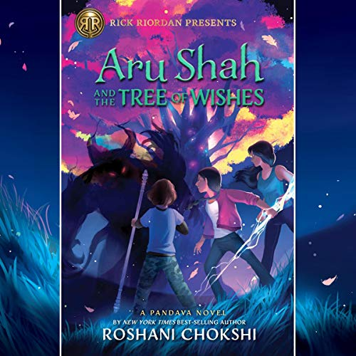 Aru Shah and the Tree of Wishes audiobook cover art