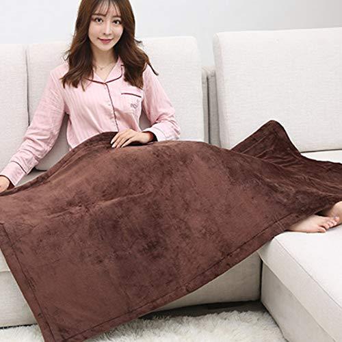 Liang Climatizada Queen Size Manta, Manta Suave Felpa eléctrico, Conveniente for la Manta del sofá Eléctrica En Inicio Cama del Escritorio, Coche eléctrico Manta Caliente