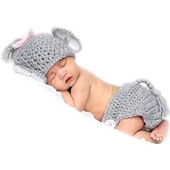 Baby Elephant Crochet Hat   AllFreeCrochet.com   350x350