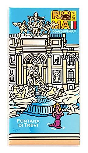 DONSOUVENIR Magnete Roma Fontana di Trevi. CALAMITA da FRIGO