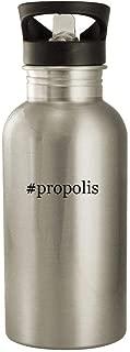 #propolis - 20oz Stainless Steel Water Bottle, Silver