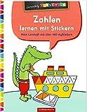 Zahlen lernen mit Stickern: Mein Lernheft mit über 400 Aufklebern (Lernerfolg Vorschule)