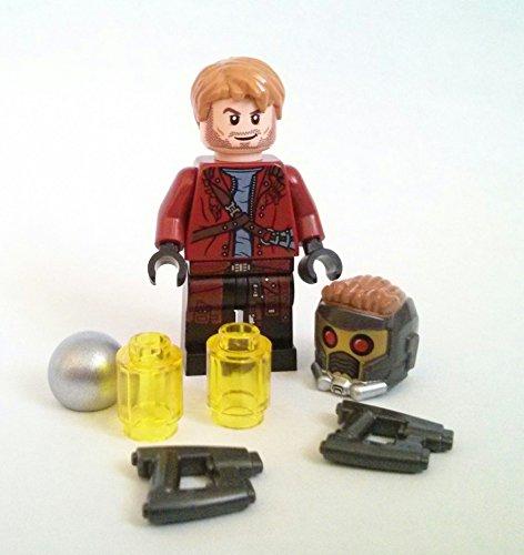 Lego Minifigura de Guardianes de la Galaxia STAR-LORD - de Set 76019