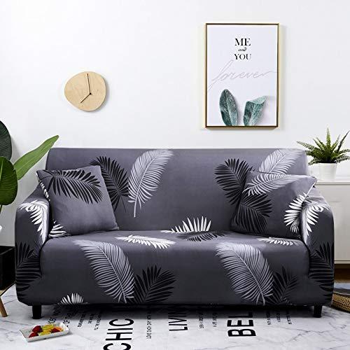 WXQY Funda elástica para sofá a Cuadros, Paquete Completo, Funda de sofá elástica antiincrustante para Sala de Estar, Funda para Silla de sofá A12, 3 plazas