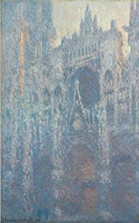 The Portal of Rouen Cathedral in Morning Light Lined - Journal: 120 Page, 5x8