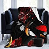 Shadow The Hedgehog Ultra Soft Flannel Fleece Throw Blanket Light Weight Warm Blanket Bed Couch Living Room 50'' x40