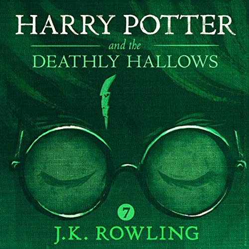 Harry Potter and the Deathly Hallows, Book 7 cover art