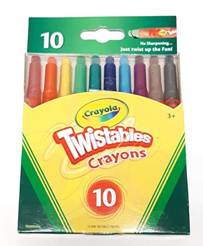 Crayola Twistables Crayons, 10ct - 1 Pack