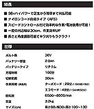 ブラックアンドデッカー 充電式 コードレスナイロントリマー 芝刈り 36V 2.0Ah GLC36N
