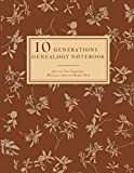 10 Generations Genealogy Notebook With 400 Ancestor Details Sheet: Ancestry Tree Organizer, Family Pedigree Chart, Genealogy Workbooks With Charts, ... (Genealogy Organizer Charts and Forms)
