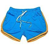 N\P Verano Color Deportes Pantalones Cortos De Malla De Ejecución Rápida Gimnasios Pantalones, f, L