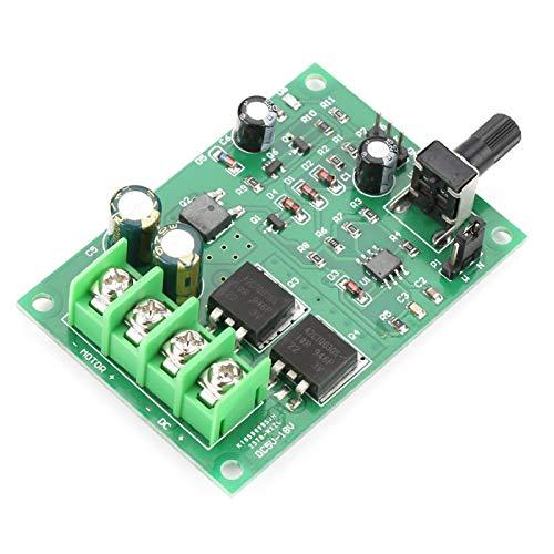 Controlador de motor, tablero de controlador de motor de controlador de velocidad de motor de CC de alta potencia PWM DC5-18V