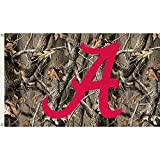 BSI PRODUCTS, INC. - Alabama Crimson Tide 3'x5' Flag with Realtree Camo Background & Heavy-Duty Brass Grommets - UA Football Pride - High Durability Design for Indoor & Outdoor Use - Great Gift Idea
