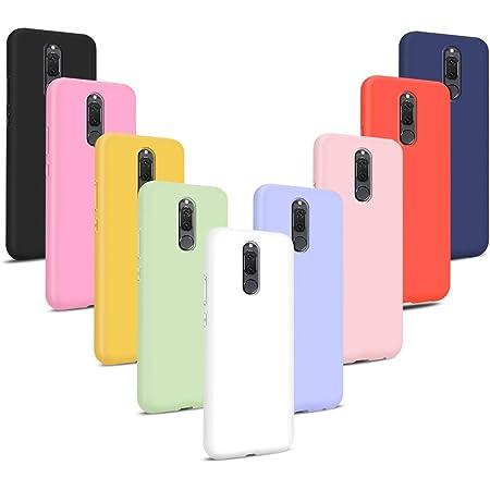 9X Cover per Huawei Mate 10 Lite, Morbido Silicone Case Tinta Unita Ultra Sottile Custodia TPU Flessibile Gomma Protezione Posteriore Antiscivolo ...