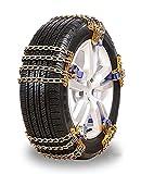 Cadenas De Neumáticos Para Nieve Cadenas De Coches, Tracción De Emergencia Para Neumáticos Con Ancho De 165-275 Mm, Cadena Antideslizante De Bucle De Bloqueo ( Color : 6pcs , Size : L (235-275MM) )