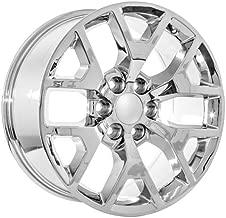 22 Chrome Chevy Avalanche Colorado Lt Ls CK156 Snowflake Wheels Rims