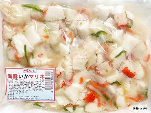 中外 海鮮 いかマリネ 1kg まとめ買い 6セット