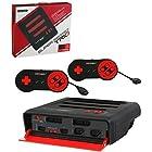 スーパーレトロトリオ【レッド/ブラック】Super Retro TRIO NES/SNES/Genesis 3in 1 System [並行輸入品]