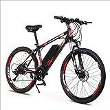 HWOEK Vélo électrique Tout-Terrain Adulte, 250W 26' Vélo électrique VTT Vélo Amovible 36V...