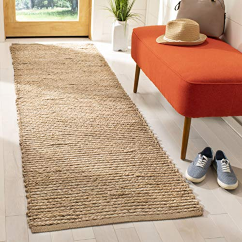 Safavieh Cape Cod Collection CAP355A Hand Woven Flatweave Natural Jute Area Rug (2