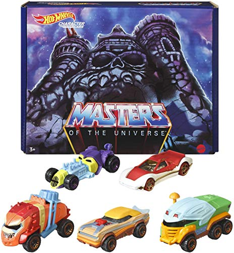 Hot Wheels Masters of the Universe Character Cars 5pk