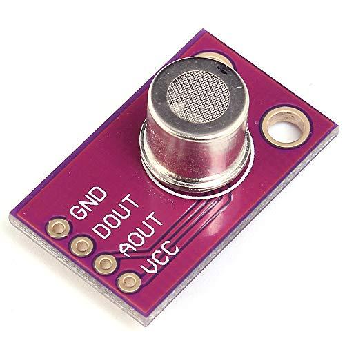 CJMCU-1100 MS1100 - Módulo de sensor de gas VOC concentración de formaldehído, Benzeno inducción de gas, 100 ma, iluminación para Arduino