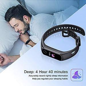 Honor Band 5i Smartwatch,Pulseras de Actividad con Podómetro ,Pulsómetro,Monitor de Actividad Deportiva,Impermeable IP68 Fitness Tracker,Negro