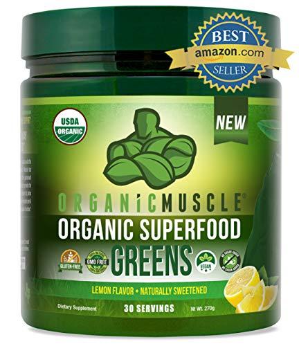 Organic Superfood Greens | #1 Super Greens Powder