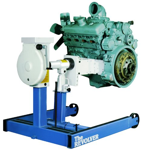 OTC 1750A 6000 lb. 'Revolver' Diesel Engine Stand with Universal Engine Adapter Assembly