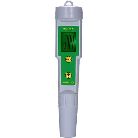 KKmoon orpメーター ORP-169F 酸化還元電位 バックライト 水質テスター 還元電位測定器 水耕栽培 水族館 IP55 防水