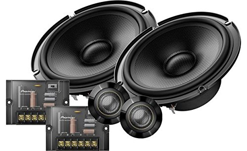 """Pioneer TS-Z65CH 6.5"""" Component Speaker System"""