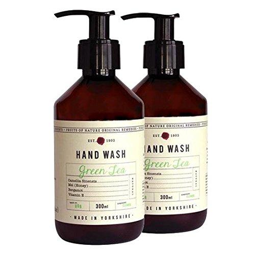 Fikkerts Luxury Green Tea & Bergamot Oil Hand Wash Twin Pack