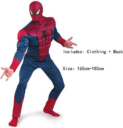 más descuento HYYSH Película de Halloween Dibujos Animados Vestido de de de Anime Disfraz de Cosplay Extraordinary Hero Printed Avengers Hero Disfraz de Cosplay (Spiderman  hasta un 50% de descuento