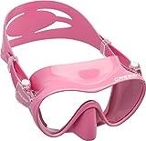 Cressi Maske F1 Frameless Gafas de Buceo, Unisex, Rosa, Talla única