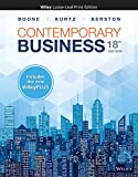 Contemporary Business, 18e WileyPLUS NextGen Card with Loose-Leaf Print Companion Set