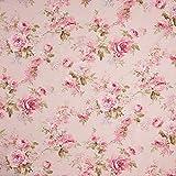 Fabulous Fabrics Dekostoff Ottoman Rosendruck – rosa —