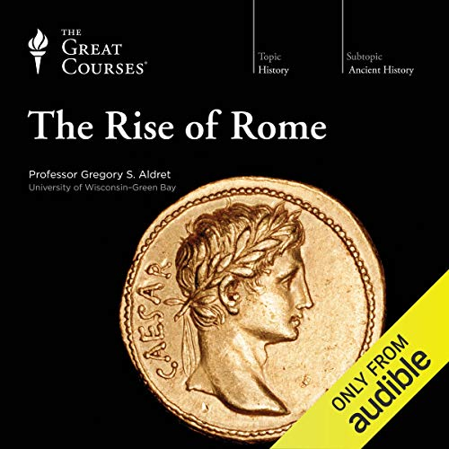 The Rise of Rome audiobook cover art