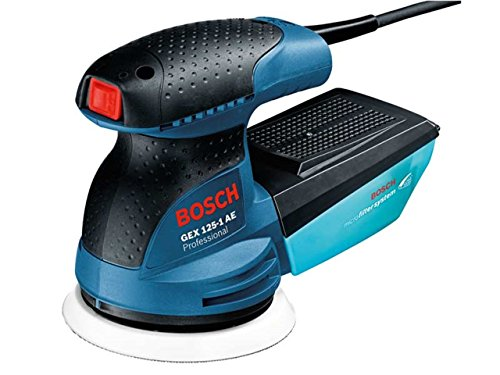 Bosch Professional GEX125-1AE/2 Bosch GEX1251AE Zufällige Orbit Sander 240v 250w, 400 W, 240 V