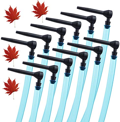 12 Set Maple Syrup Tapping Kit 12 Pcs Maple Syrup Taps and 12 Pcs 24inch Syrup Collection Tubes Maple Tree Tap Kit Maple Tapping Kit for Maple Birch Syrup Supplies