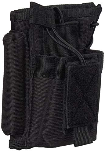 VISM by NcStar Stock Riser with Mag Pouch, Black (CVSRMP2925B)