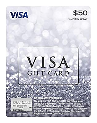 $50 Visa Gift Card (plus $4.95 Purchase Fee)