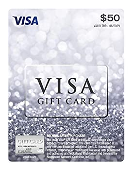 $50 Visa Gift Card  plus $4.95 Purchase Fee