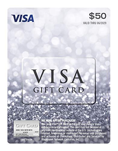 $50 Visa Gift Card