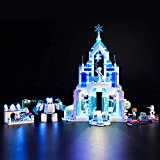 HYQX Kit de luces LED para Lego 41148 Disney Princess Elsa 's Magic Ice Palace, juego de iluminación de luces compatible con Lego 41148 (juego de luces LED solamente, sin kit de lego)