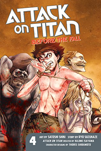 Attack on Titan: Before the Fall Vol. 4 (English Edition)