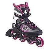K2 Skate Damen Inline Skate Ascent 80 W — Black - Purple —...