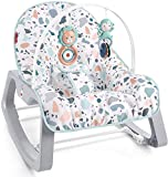 Fisher-Price Infant-to-Toddler Rocker - Pacific Pebble, Portable Baby...