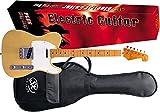 SX STL50+ Guitarra Eléctrica Butterscotch Rubio